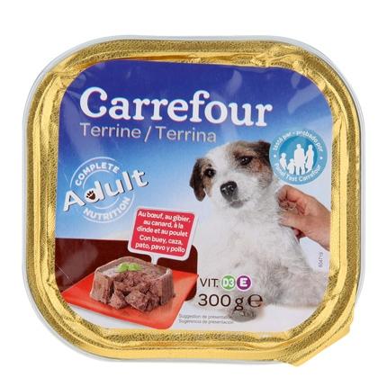 Alimento húmedo para perros 300 gr con 5 tipos de carne