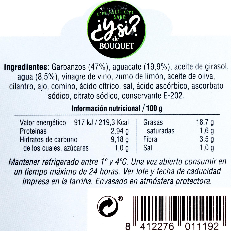 Hummus de aguacate 200 g - 3