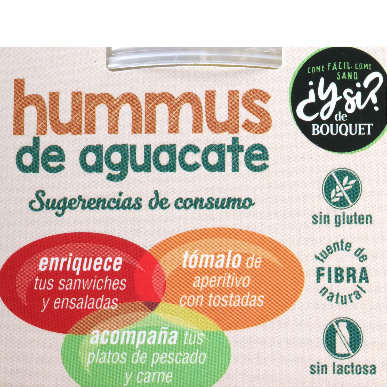 Hummus de aguacate 200 g - 4