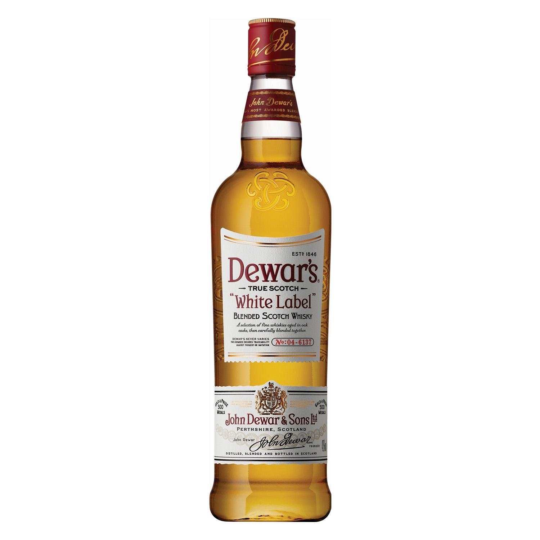 Whisky Dewar's White Label escocés 1 l.