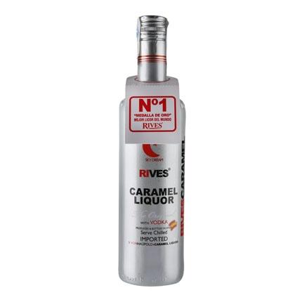 Vodka Rives sabor caramelo 70 cl.