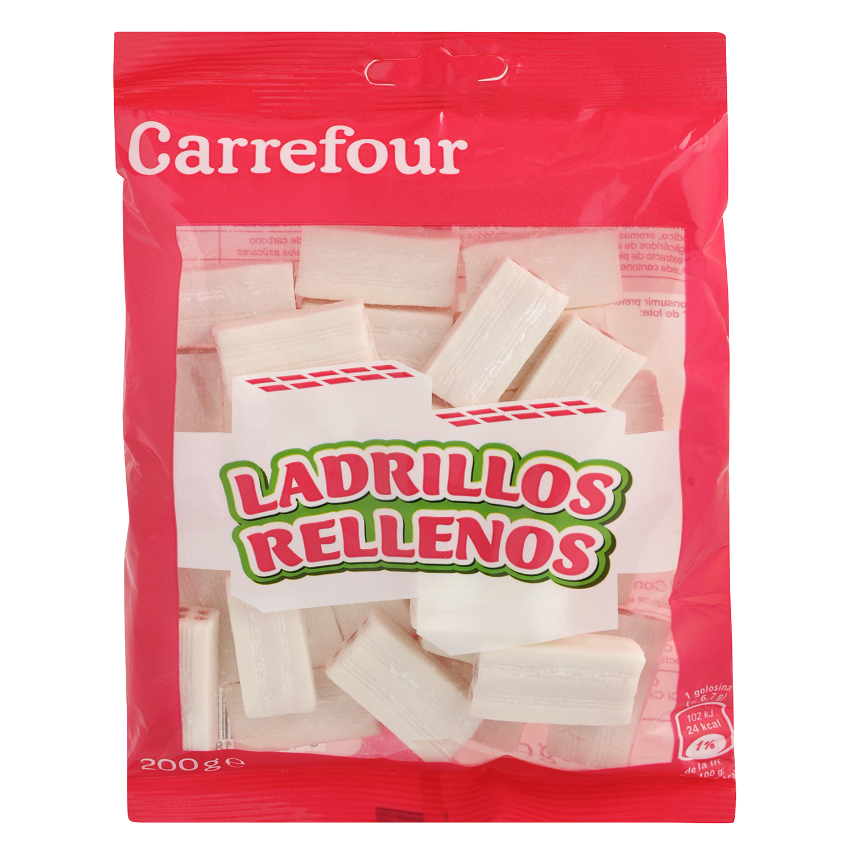 Ladrillos de goma Carrefour 200 g.