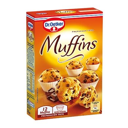 Preparado para muffins Dr. Oetker 370 g.