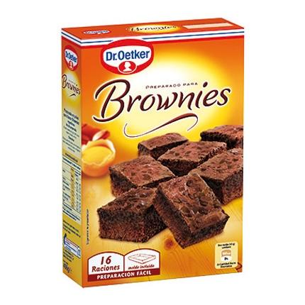 Preparado brownies
