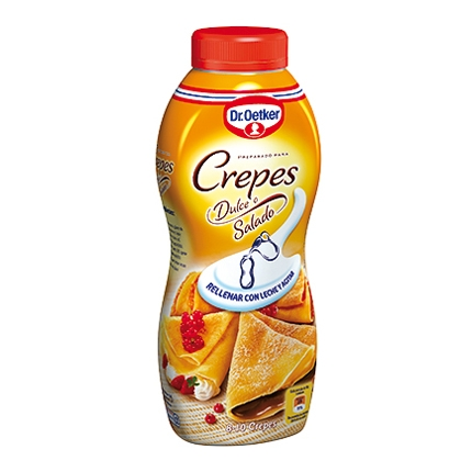 Crepes shaker
