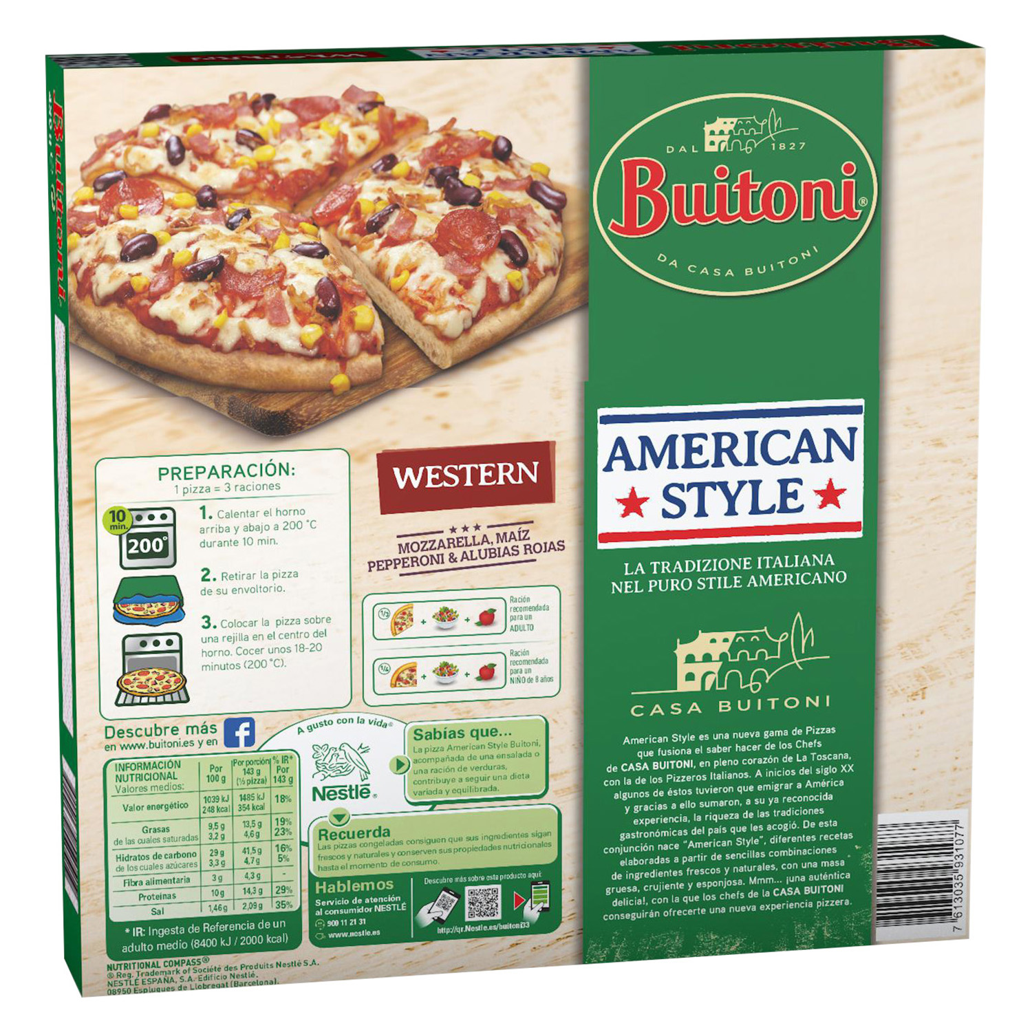 Pizza American Style Western - 2
