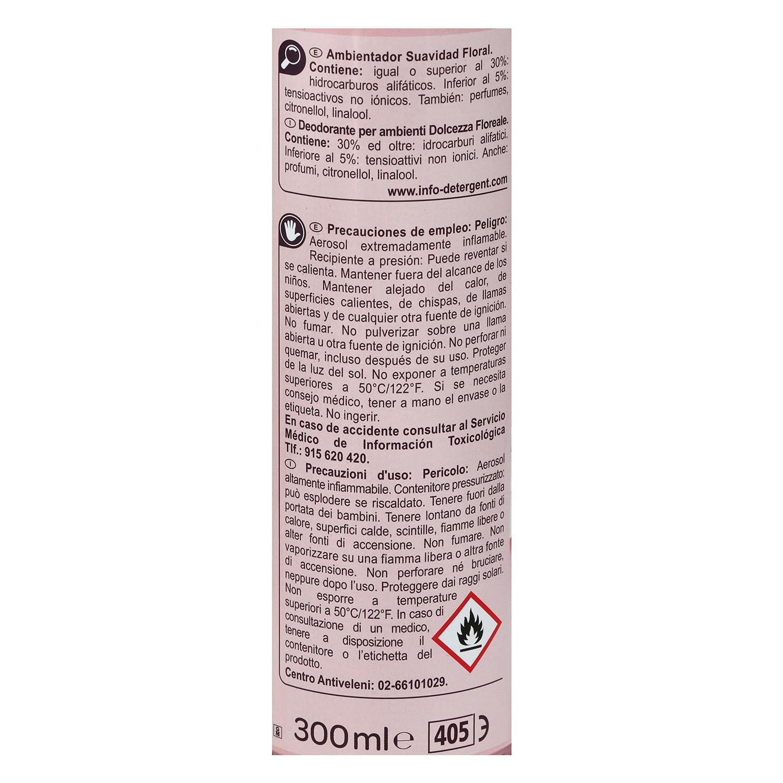 Ambientador aerosol floral Carrefour 300 ml. - 2