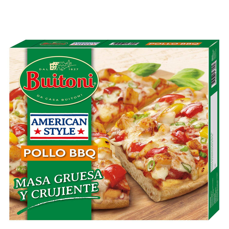 Pizza American Style pollo BBQ Buitoni 425 g.