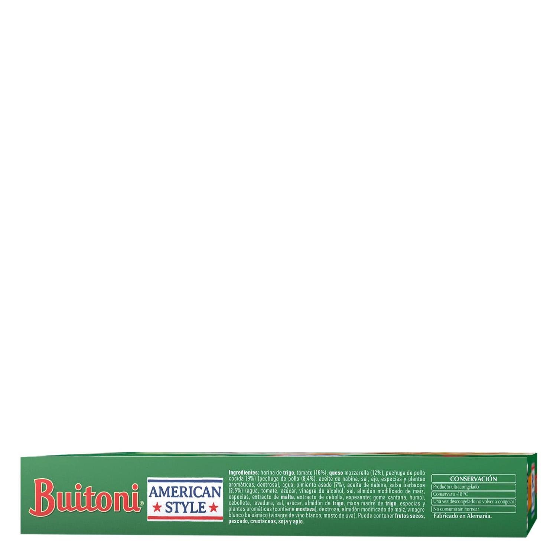 Pizza de pollo bbq Buitoni 425 g. - 3