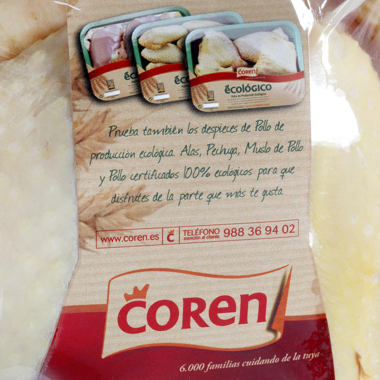 Pollo Limpio Ecológico Coren 2 kg aprox - 3