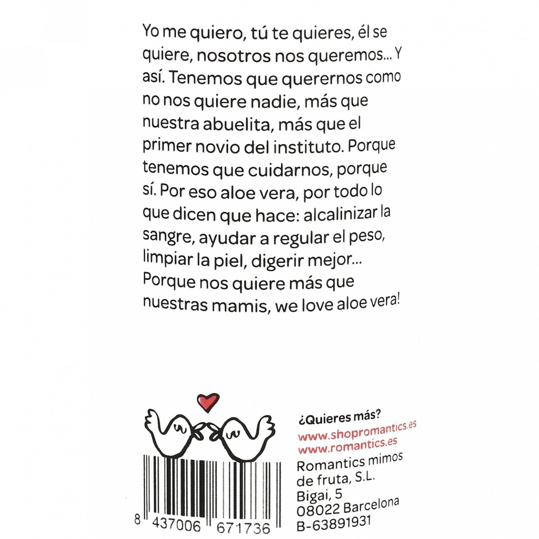 Zumo Romantics Detox Aloe Vera botella 25 cl. - 3