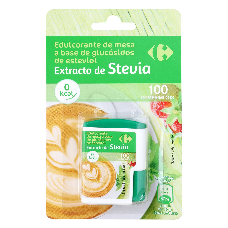 Edulcorantes con extracto de Stevia