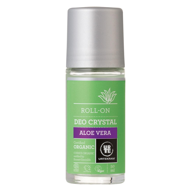Desodorante ecológico roll-on con aloe vera Urtekram 50 ml.