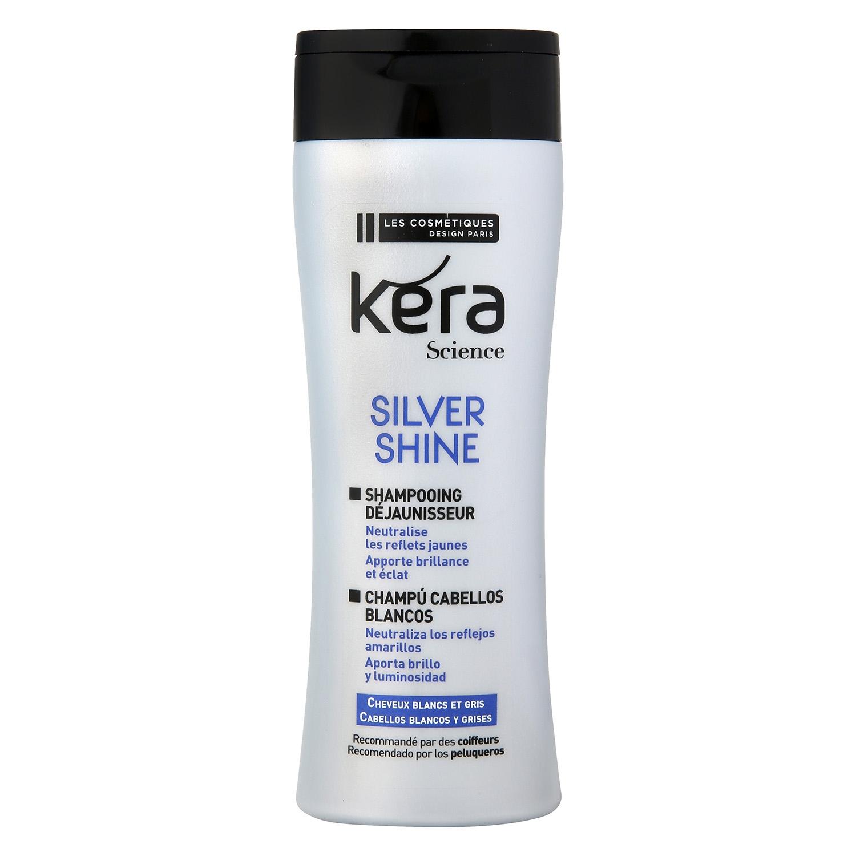 Champú cabellos blancos Les Cosmétiques -Kera Science 300 ml.