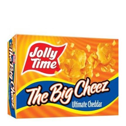 Palomitas sabor queso para microondas Jolly Time 387 g.