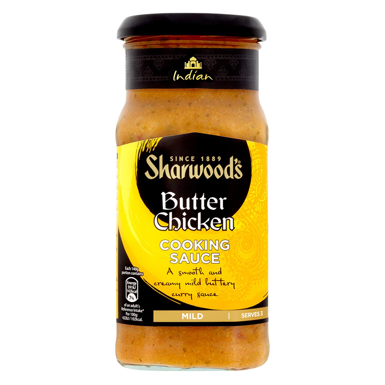 Salsa butter chicken Sharwood's tarro 420 g.