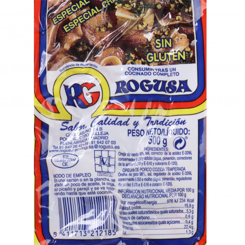 Oreja de Cerdo Guisada Rogu 500 g  - 3