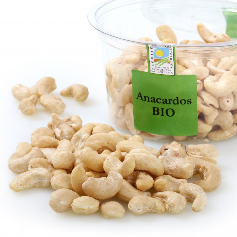 Anacardo crudo ecológico Carrefour granel tarrina 250 g