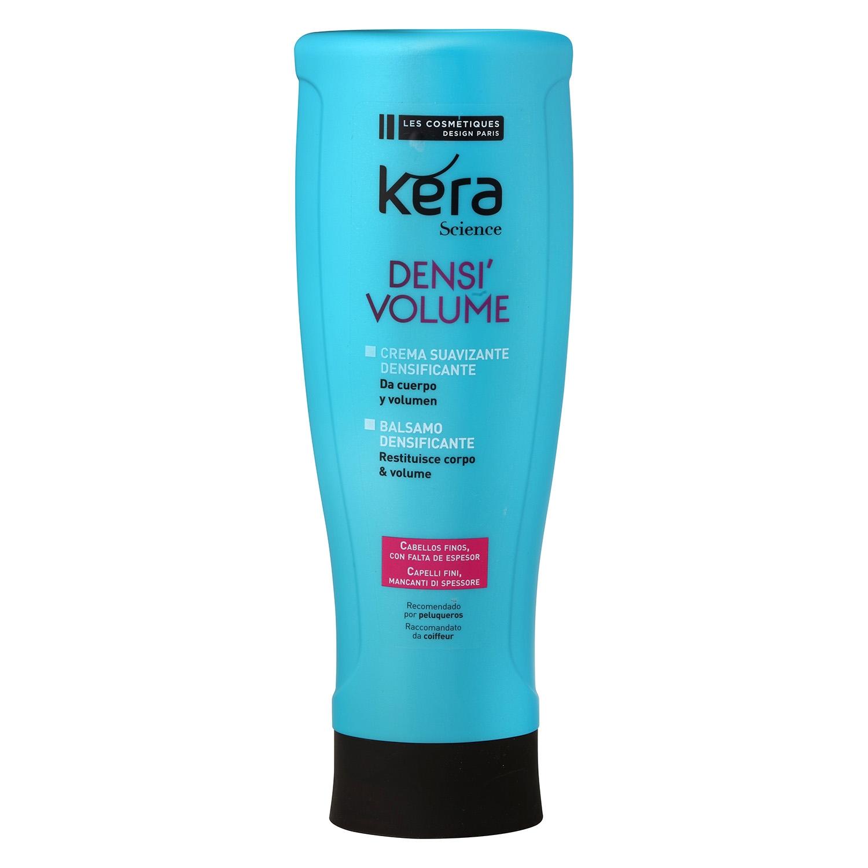 Crema suavizante densificante para cabellos finos