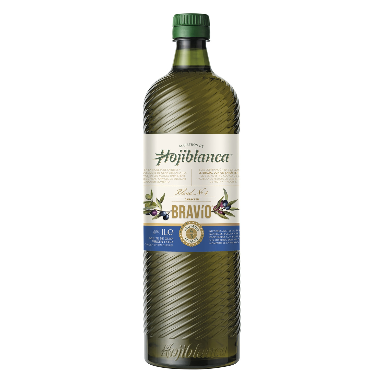 Aceite de oliva virgen extra bravío Hojiblanca 1 l.