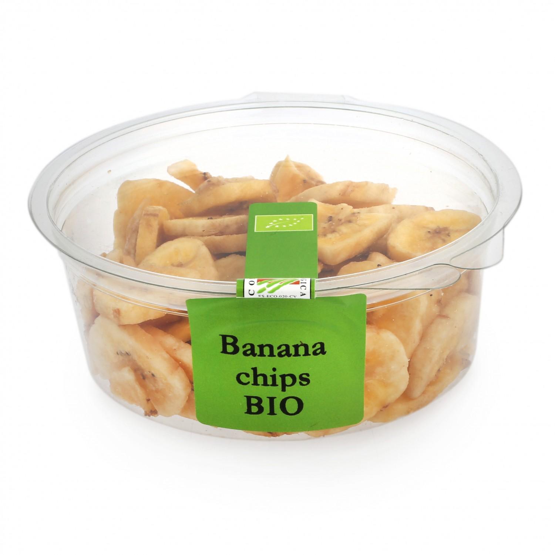 Banana chip ecológica Carrefour granel tarrina 90 g - 2