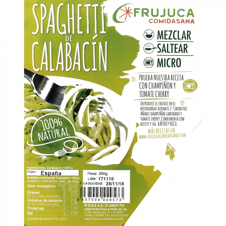 Espaguetis calabacín - 2