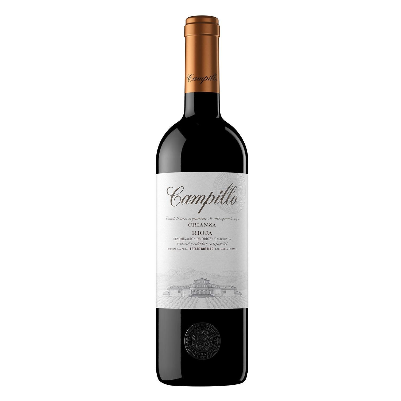 Vino D.O. Rioja tinto crianza Campillo 75 cl.