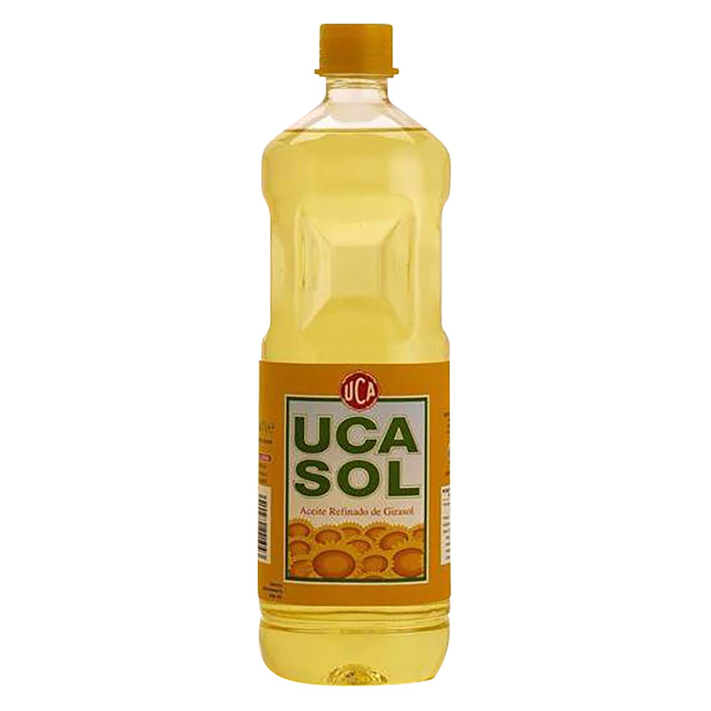 Aceite de girasol Ucasol 1 l.