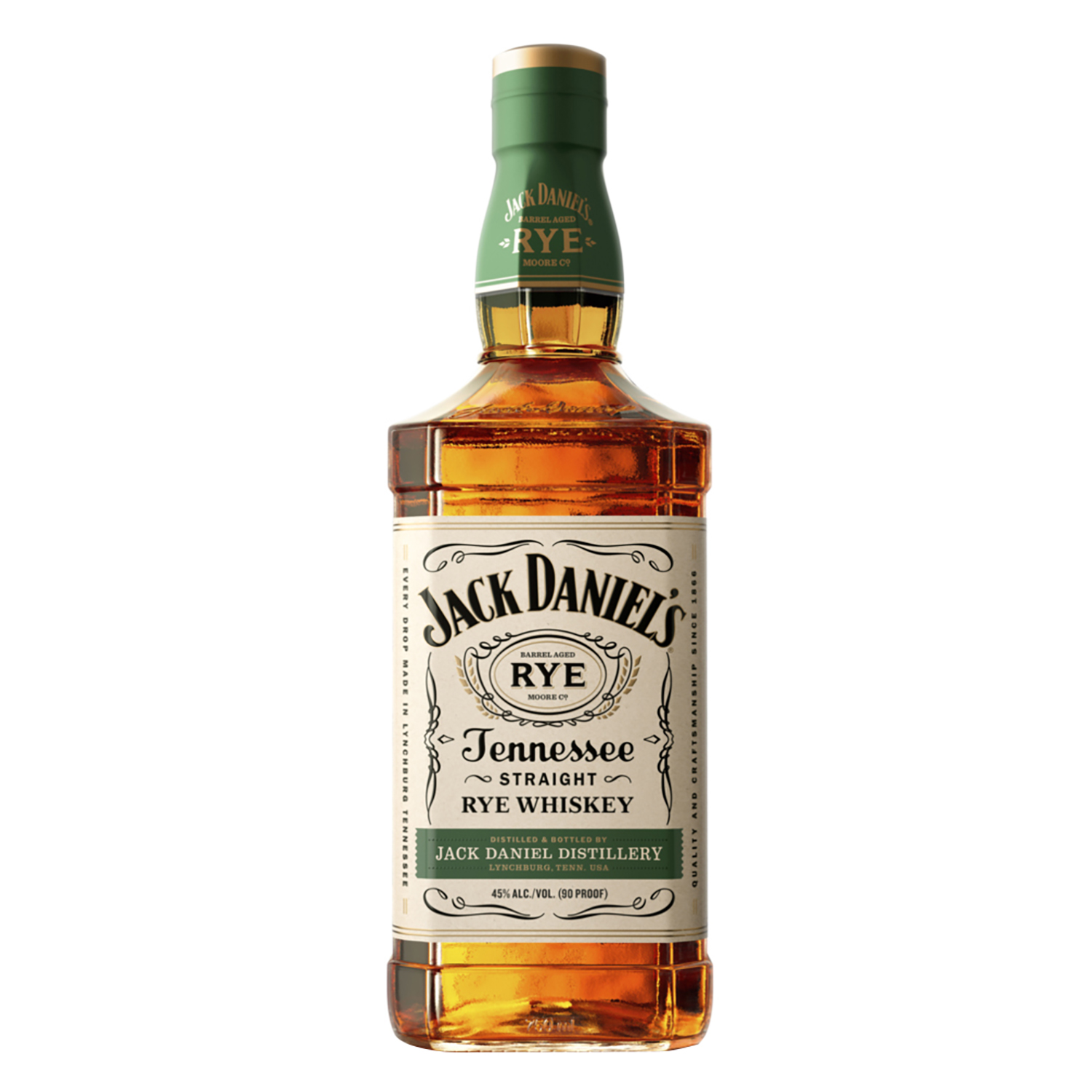 Whisky Tennessee Rye Jack Daniel's 70 cl.