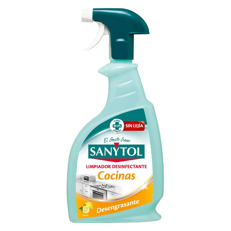 Limpiador desinfectante desengrasante pistola sanytol for Productos cocina online