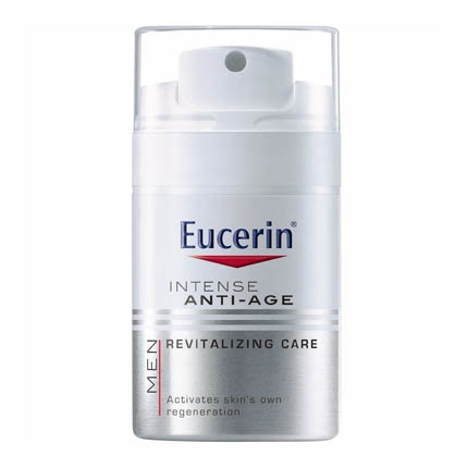 Crema antiedad que reduce los signos del envejecimiento Eucerin Men 50 ml.
