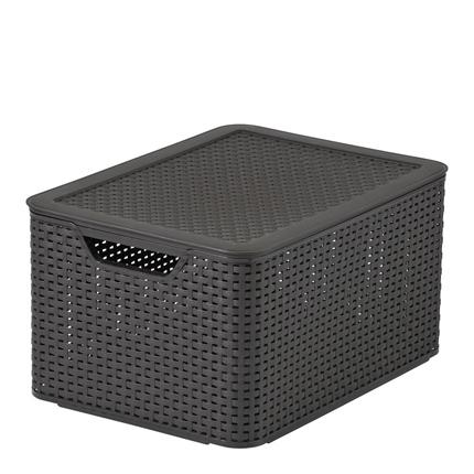 Caja Curver Style 30l - Marrón