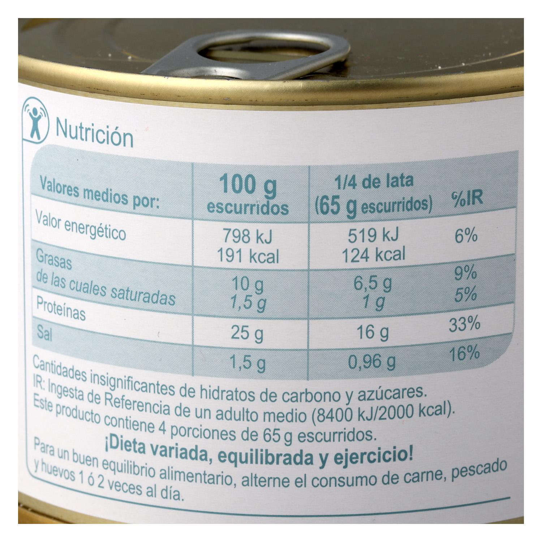 Atún en aceite de girasol - 2