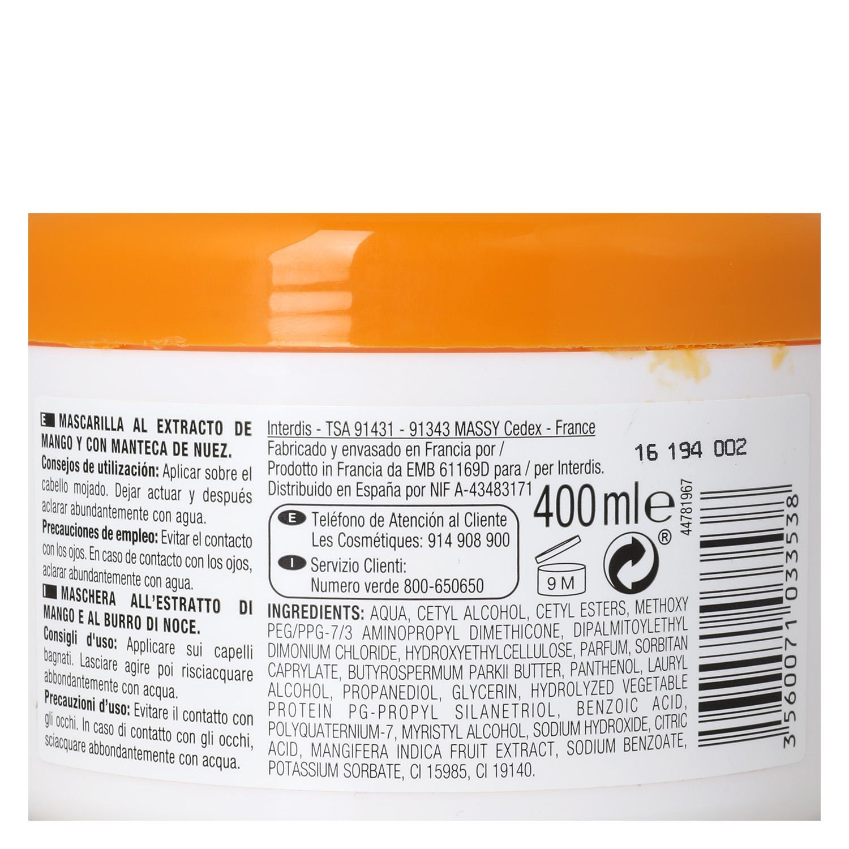 Mascarilla Mango & Nuez para cabello seco - Nectar of Nature -