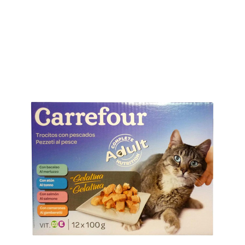 Alimento Húmedo para Gatos Pescado  -