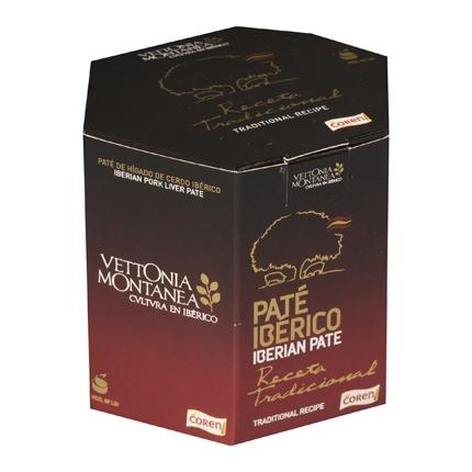 Paté tradicional Vettonia Coren pack de 2 unidades de 78 g.