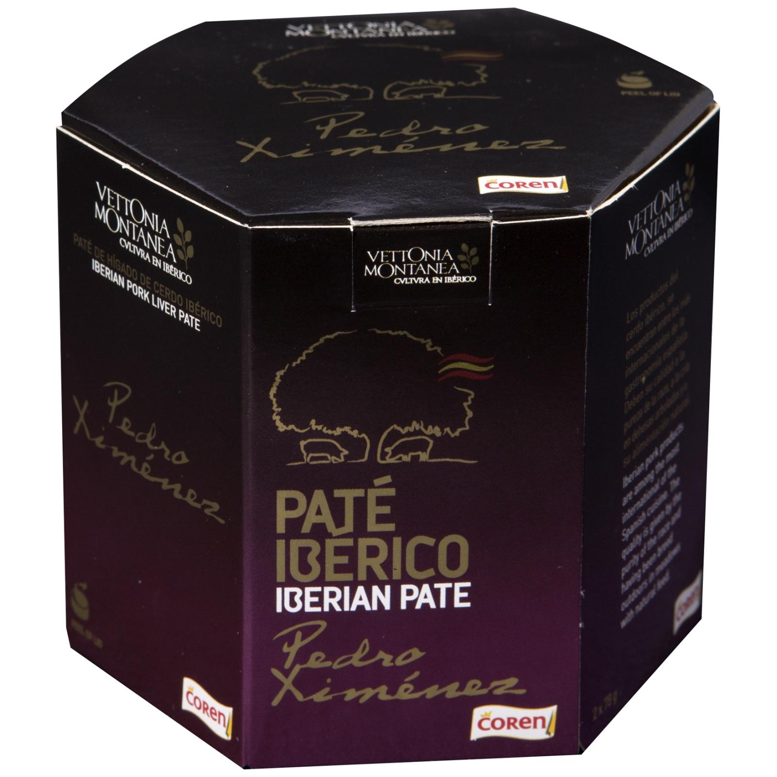 Paté ibérico Pedro Ximenez