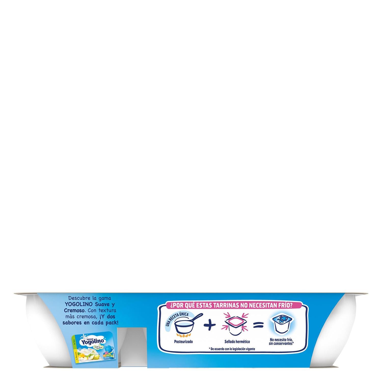 Preparado lácteo de pera Nestlé Iogolino pack de 6 unidades de 60 g. - 3