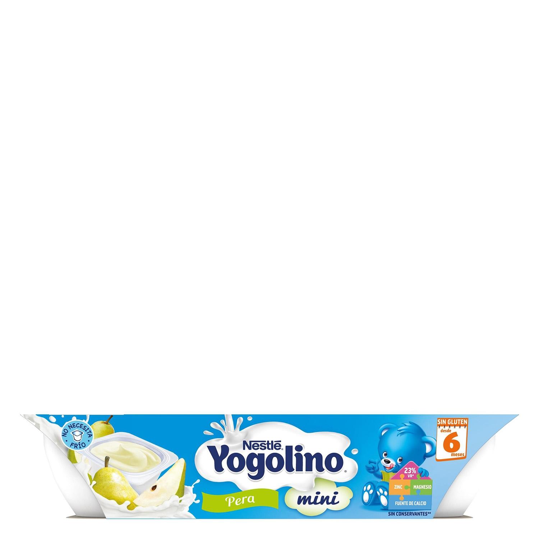 Preparado lácteo de pera Nestlé Iogolino pack de 6 unidades de 60 g. - 4
