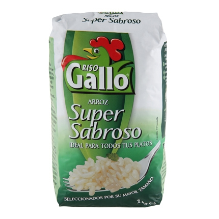 Arroz Riso Gallo 1 kg.