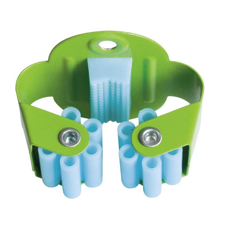 Sujetapalos unitario Azul y verde