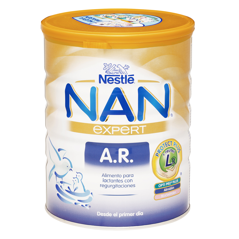 Leche Anti-regurgitación Nestlé Nan 800 g.