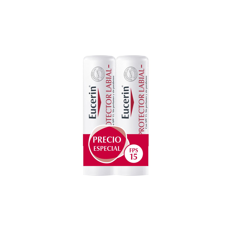 Protector labial para piel sensible Eucerin 2 ud.