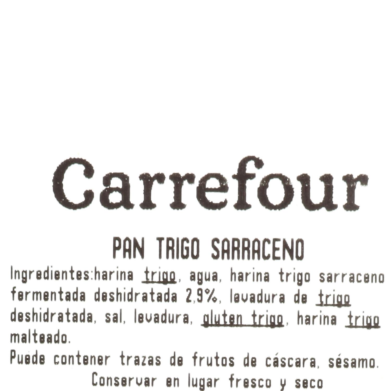 Pan de trigo sarraceno  1 ud - 3