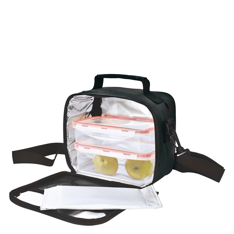 Pack Bolsa portalimentos  My Lunchbag con 2 contenedores- Negro - 3