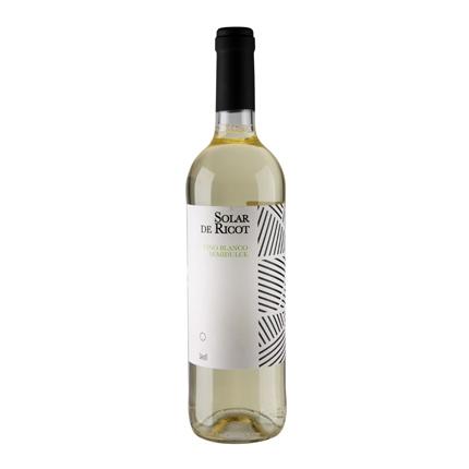 Vino blanco semi-dulce Solar de Ricot 75 cl.