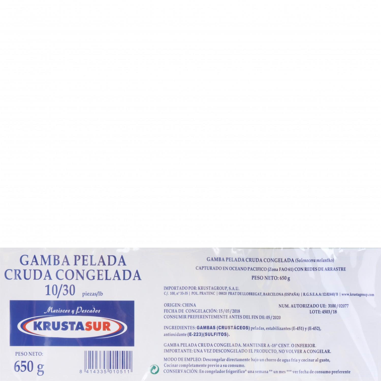 Gamba pelada (10/30 ud) Carrefour 700 g - 3