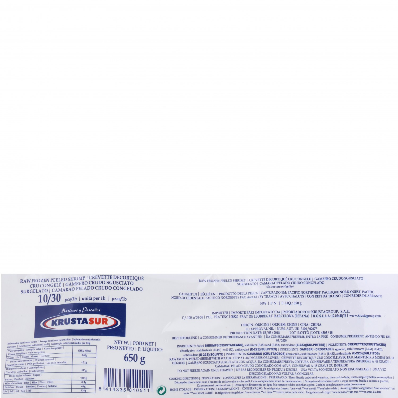 Gamba pelada (10/30 ud) Carrefour 700 g - 4