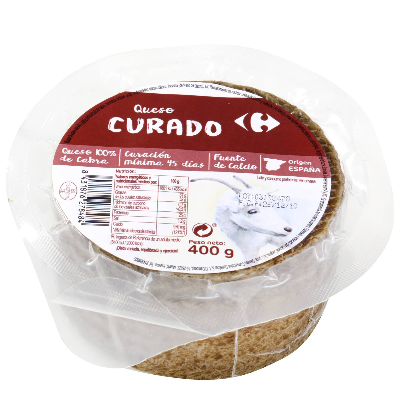 Queso mini de cabra curado Carrefour 400 g