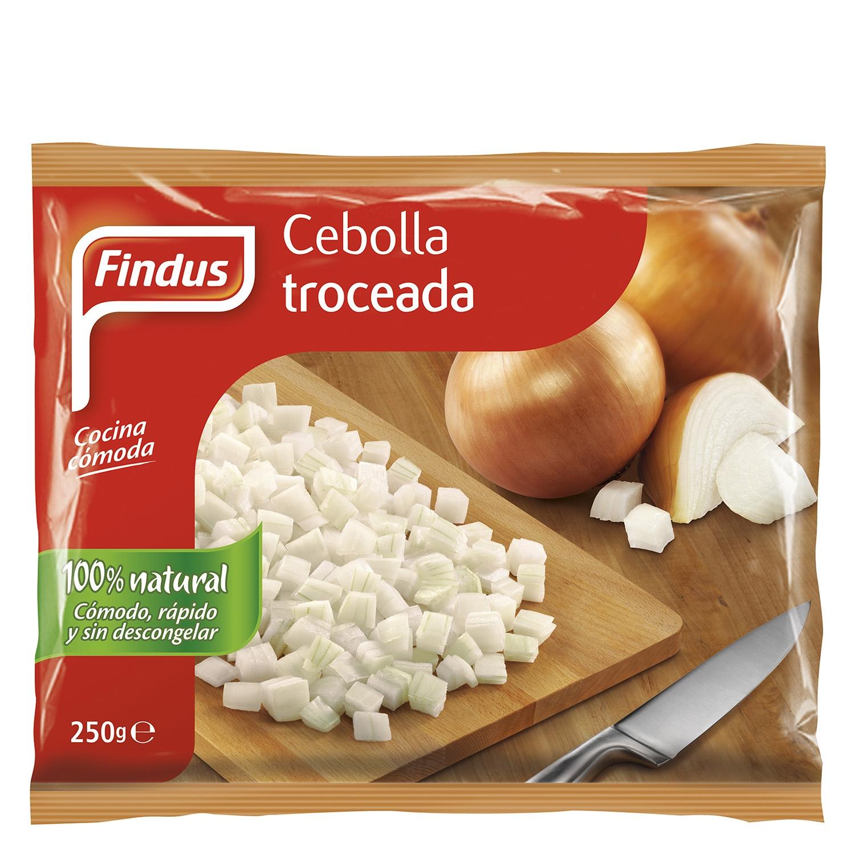 Cebolla troceada Findus 250 g.